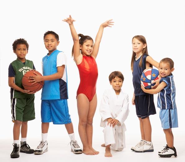 Gambar : Olahraga yang cocok untuk anak-anak